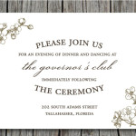 : funny wedding invitation wording ideas