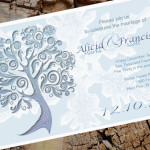 : Winter Wonderland Wedding Invitations
