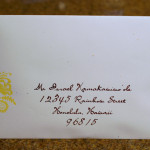 : addressing wedding invitation envelopes