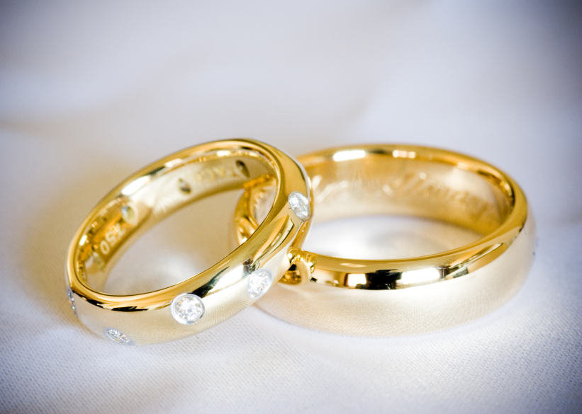 : affordable trio wedding ring sets