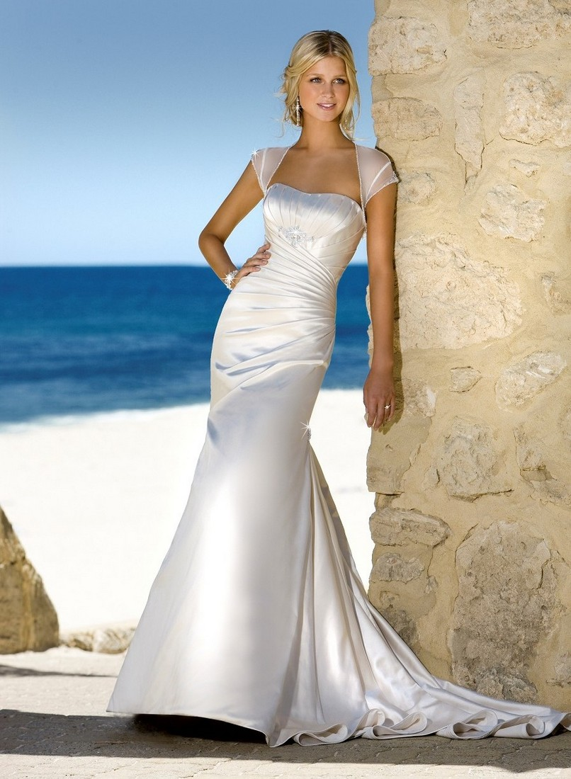: beach dresses for wedding