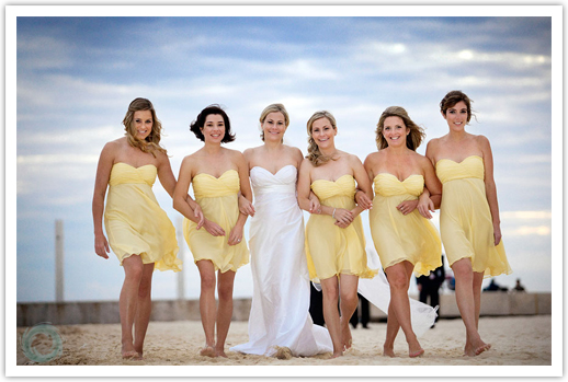 : beach wedding attire