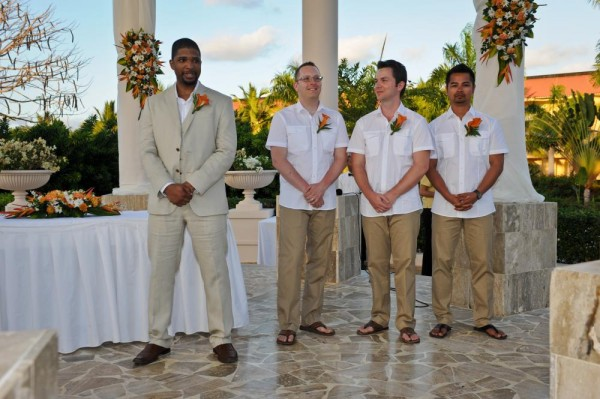 beach wedding mens attire