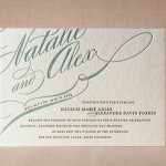 : best letterpress wedding invitations