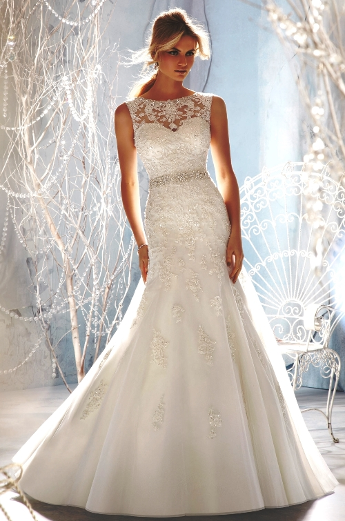 : bling bling wedding dress
