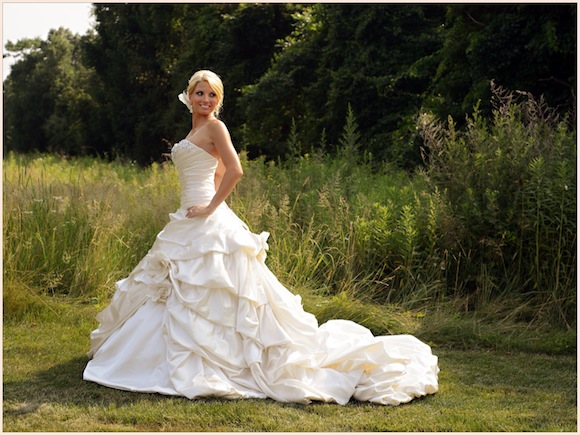 : bling bling wedding gowns