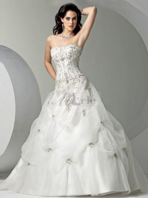 : bling wedding dresses