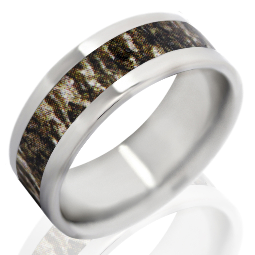 : camo wedding band for men