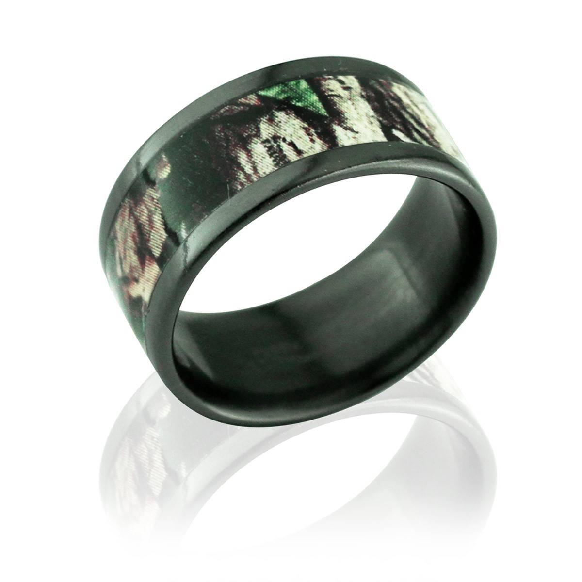: camo wedding bands for men