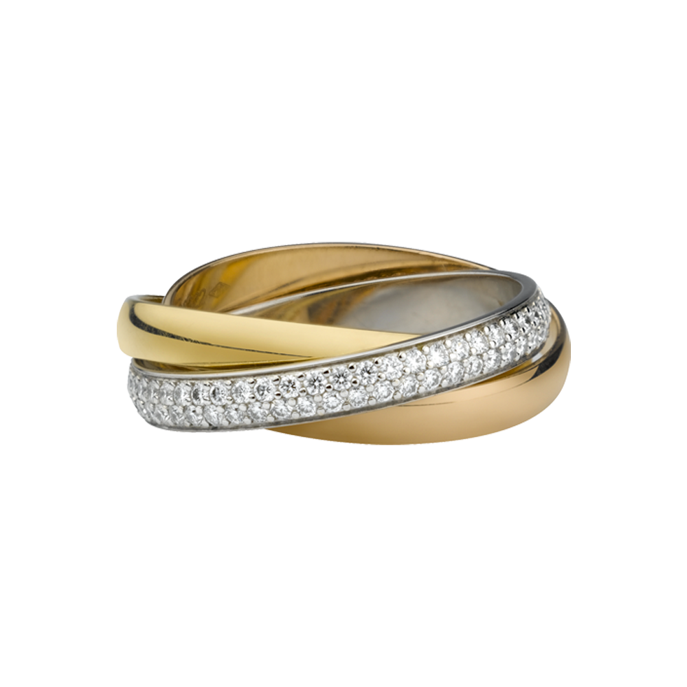 Gallery of The Cartier Wedding Rings