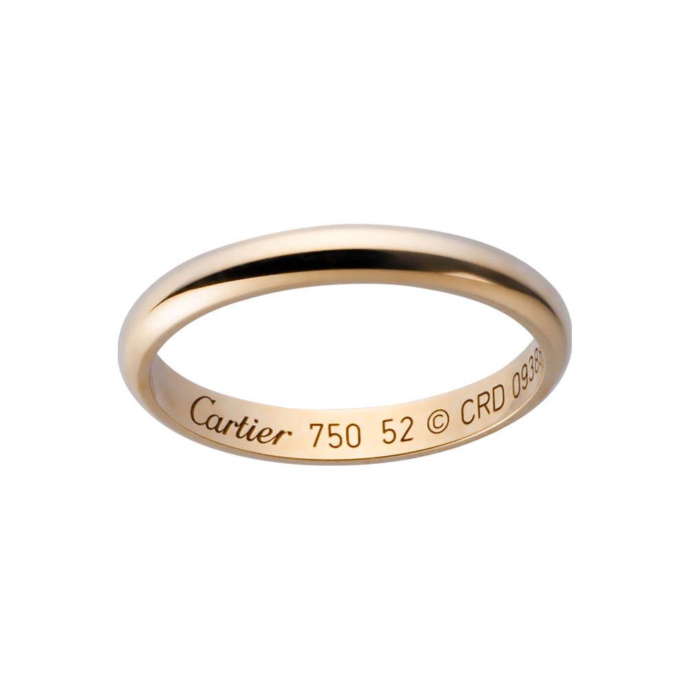 : cartier wedding ring