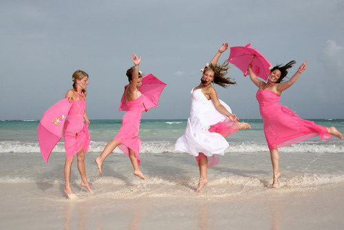 : casual beach wedding attire