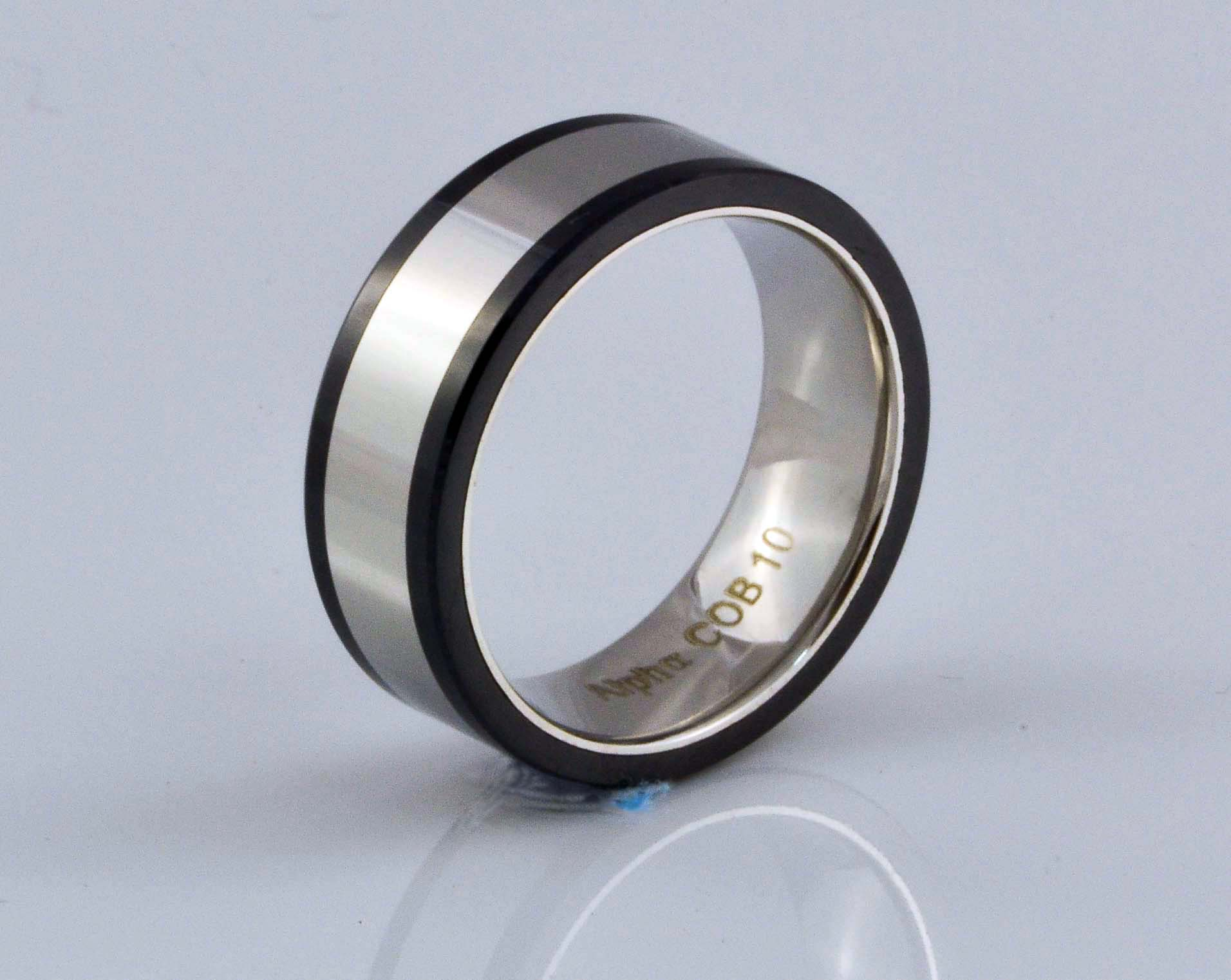 : cheap mens titanium wedding bands