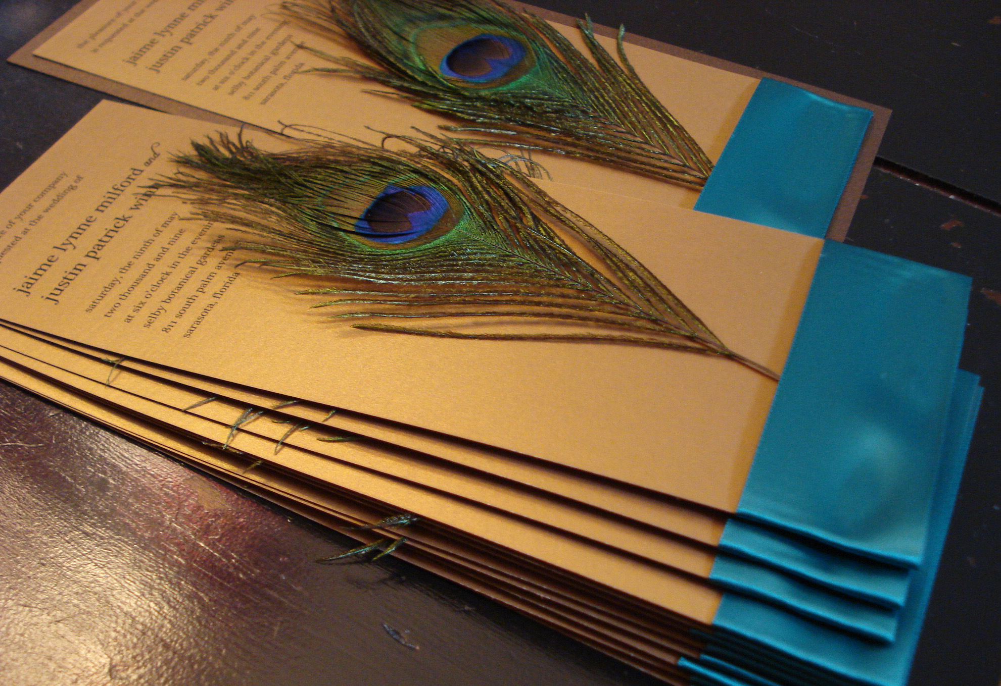 : cheap peacock wedding invitations