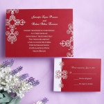 : cheap winter wedding invitations