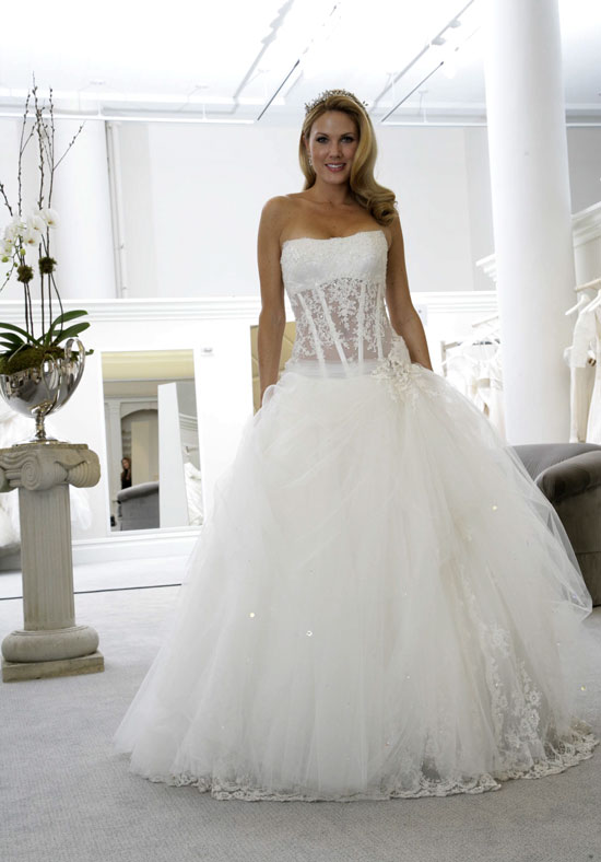 : corset wedding dresses kleinfeld