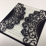 : custom laser cut wedding invitations