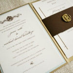 : diy elegant wedding invitations