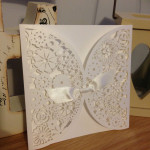 : diy laser cut wedding invitations