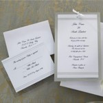 : elegant wedding invitation kits