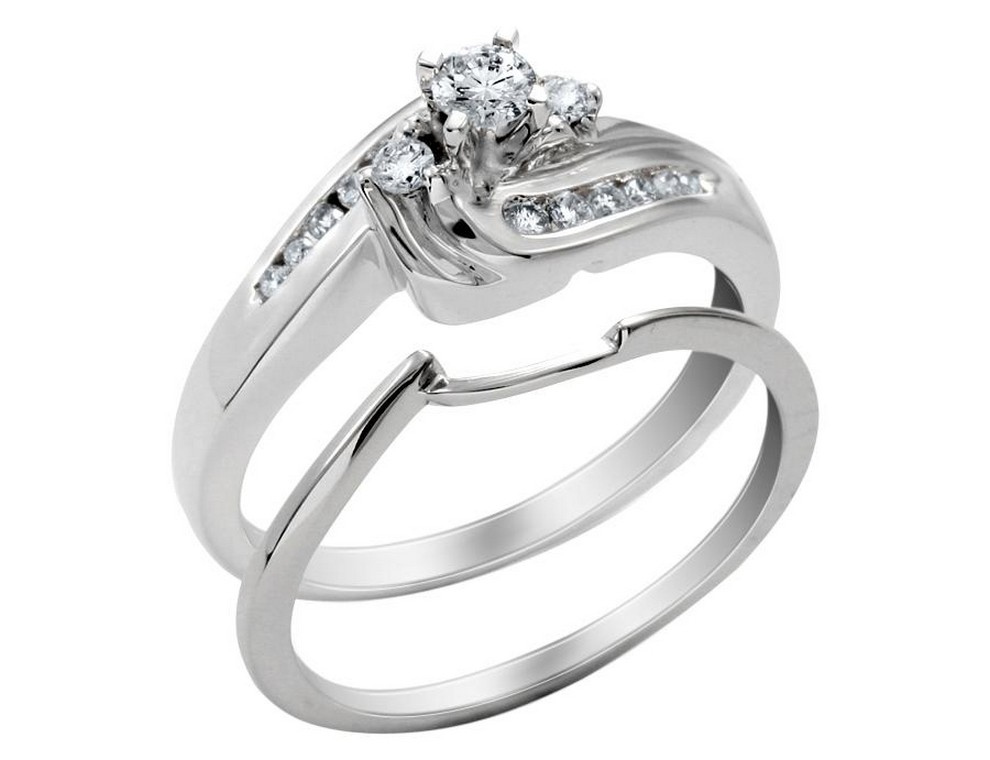 engagement and wedding rings sets