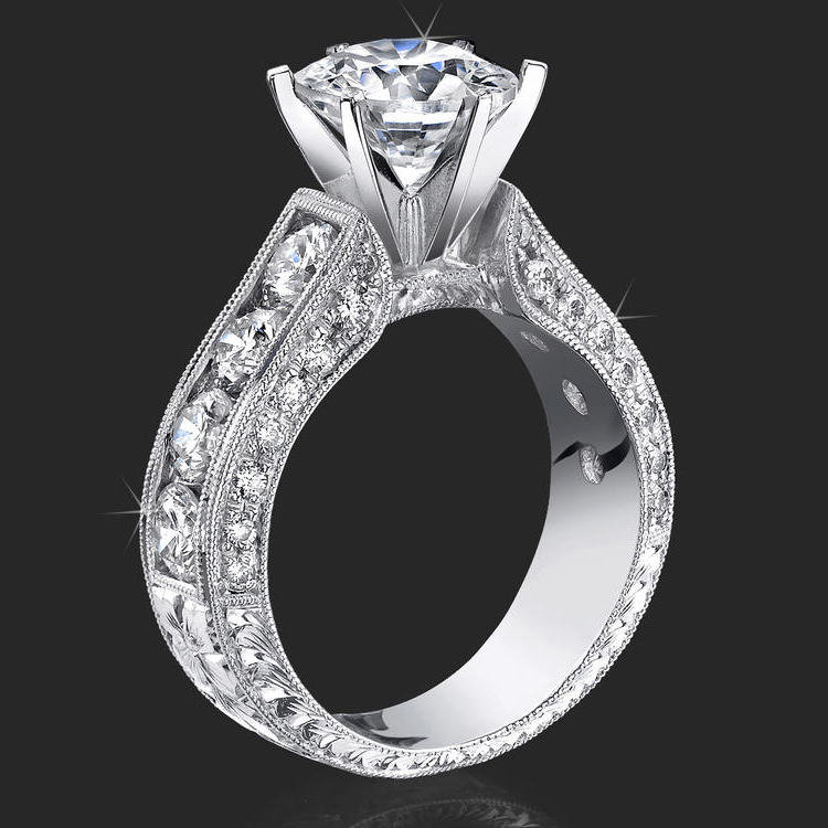 : engagement rings and wedding rings