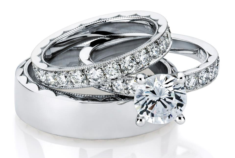 : engagement rings wedding sets