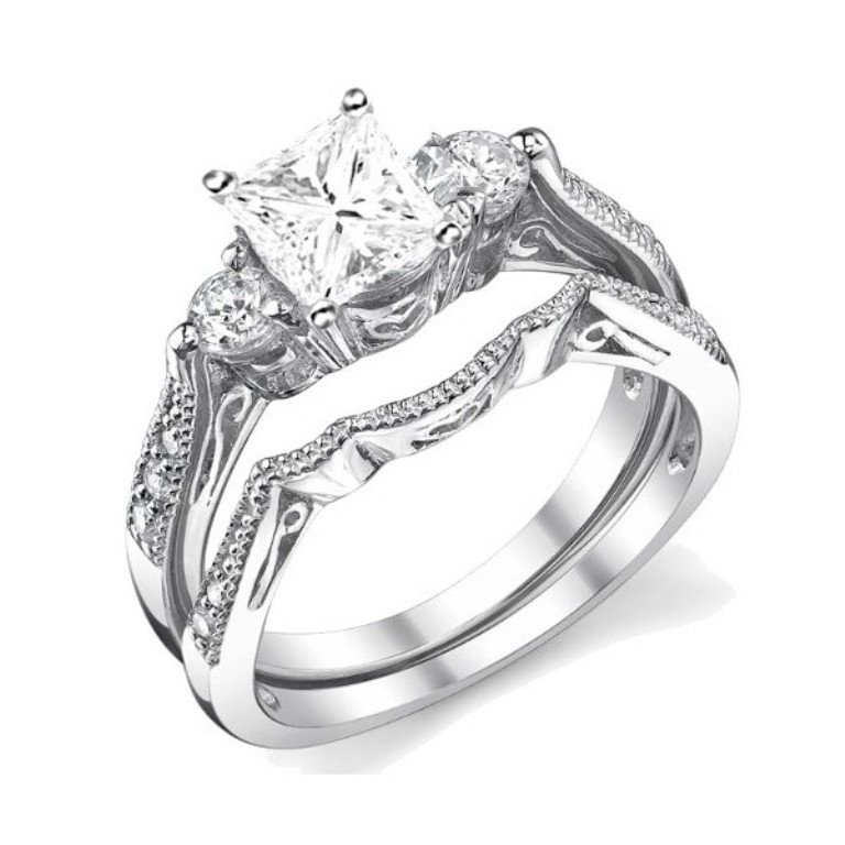 : engagement & wedding ring sets
