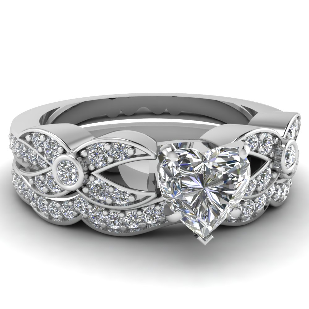 : engagement wedding ring sets