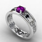 The Gothic Wedding Rings