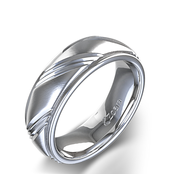 : gothic wedding bands