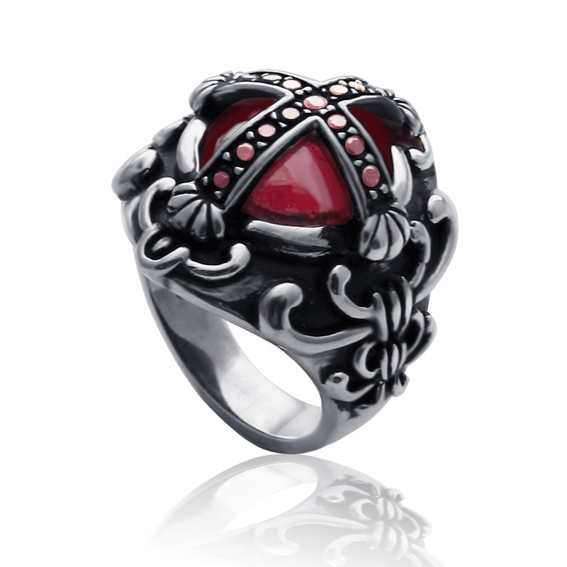 : gothic wedding ring sets