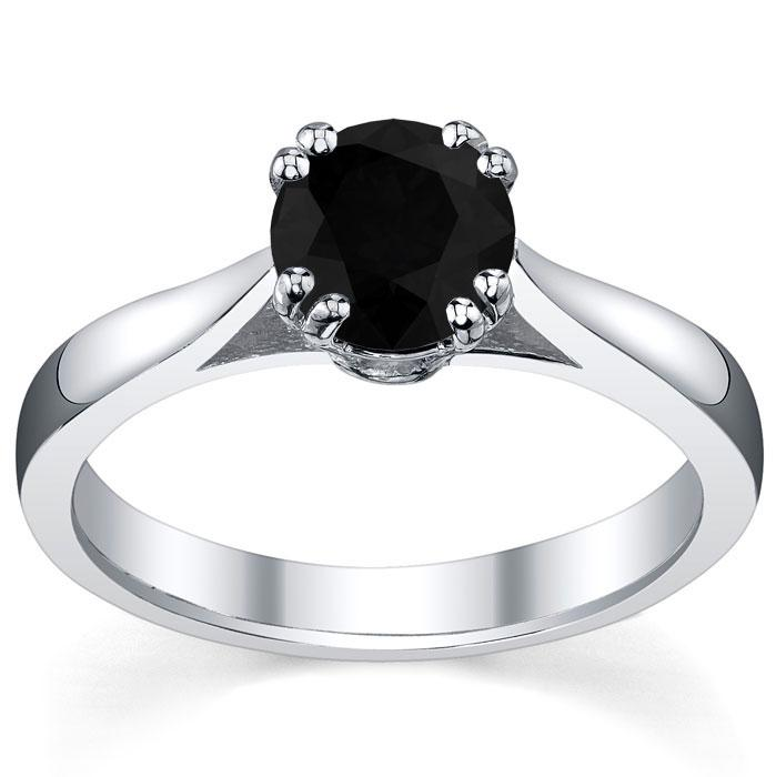 : gothic wedding rings for women