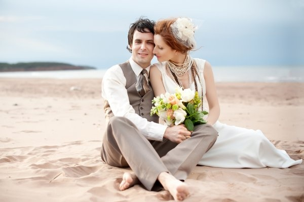 : groom beach wedding attire