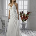 : halter top bridesmaid dresses