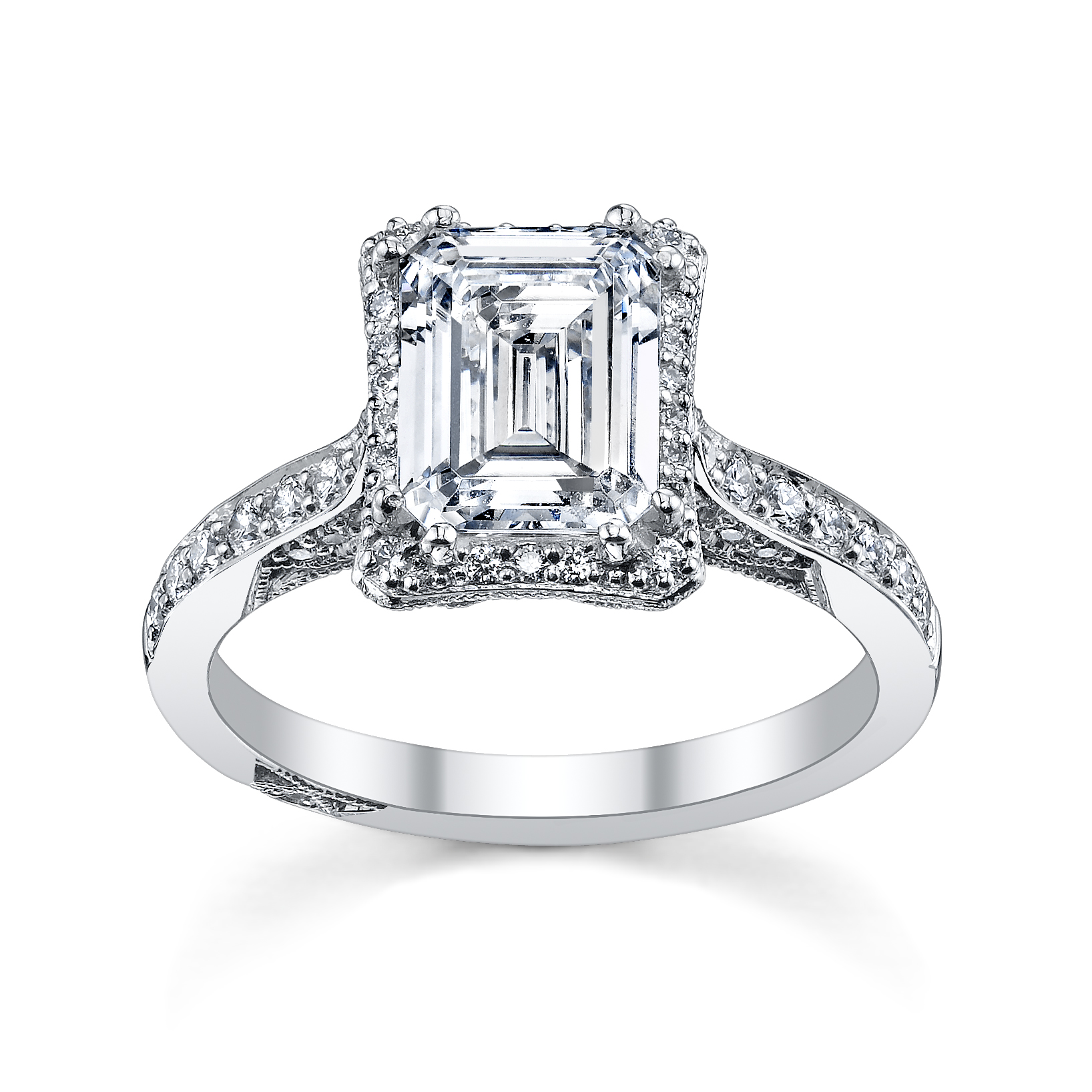 : harry winston engagement ring