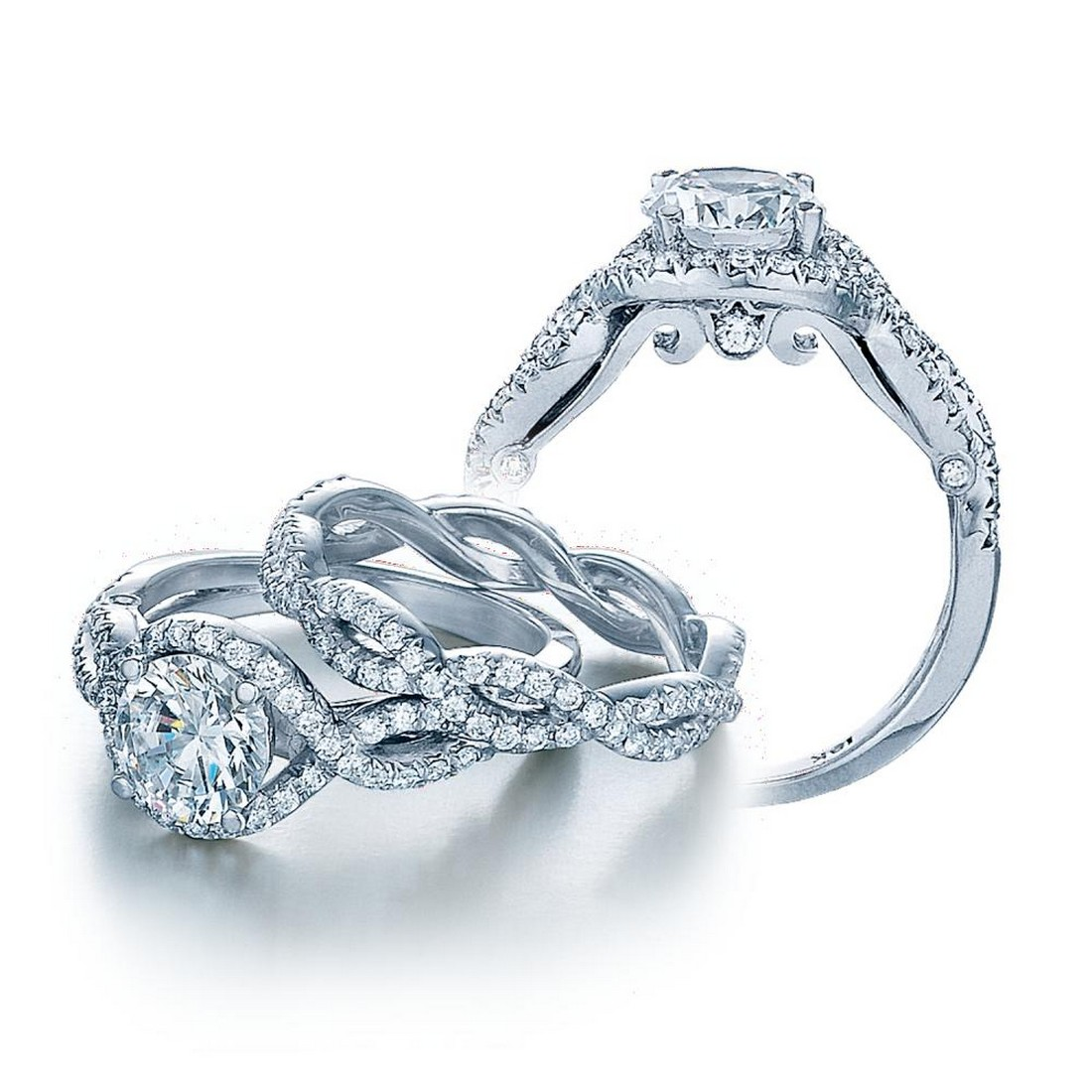 harry winston style engagement rings wedding ideas and