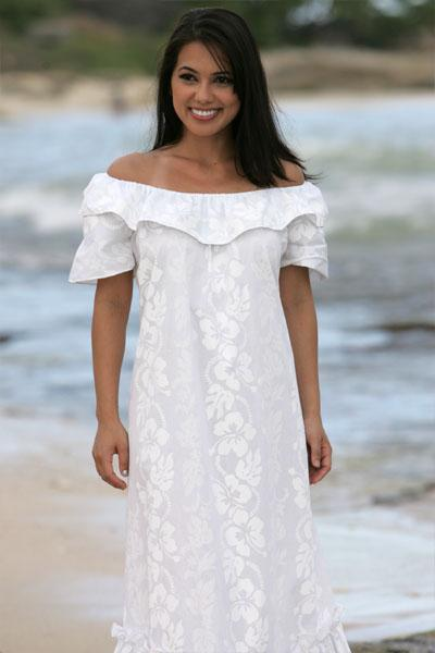 : hawaiian wedding dresses