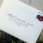 : how to print wedding invitation envelopes