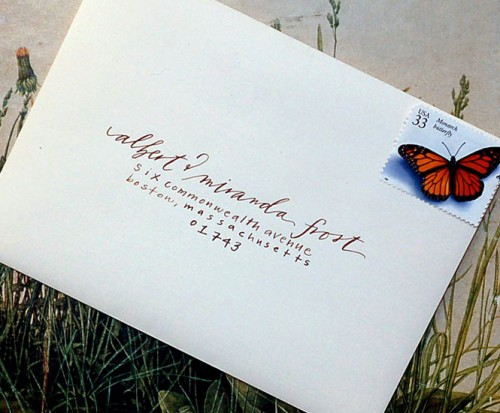 how to print wedding invitation envelopes