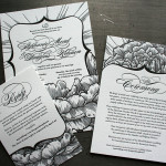 : inexpensive letterpress wedding invitations