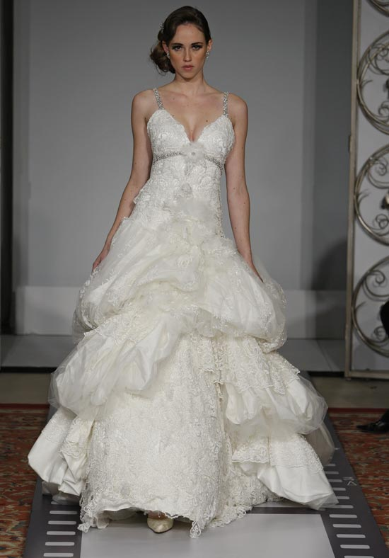 : kleinfeld wedding dress designers