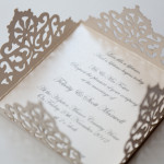 : laser cut wedding invitations