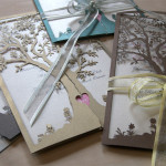 : laser cut wedding invites