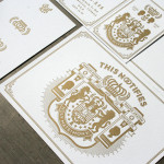 : letterpress wedding invitations cost
