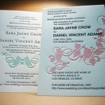 : letterpress wedding invitations nyc