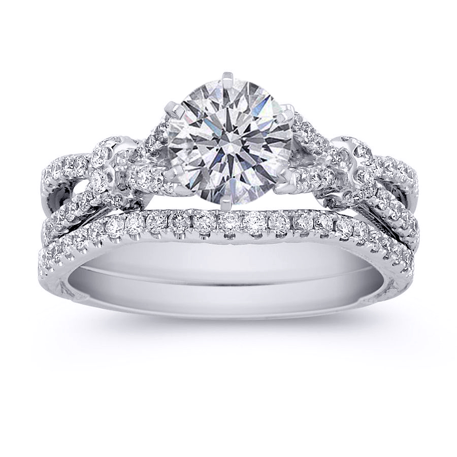 : matching wedding rings sets