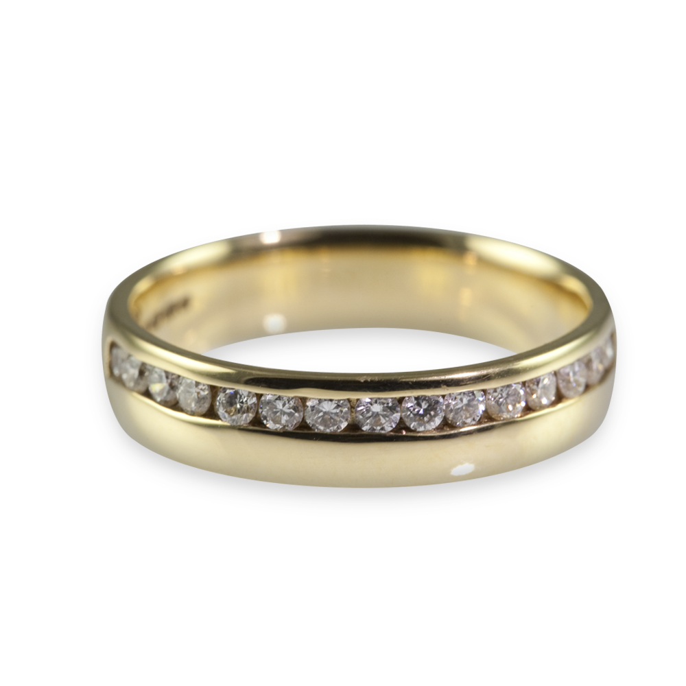 : men diamond wedding band