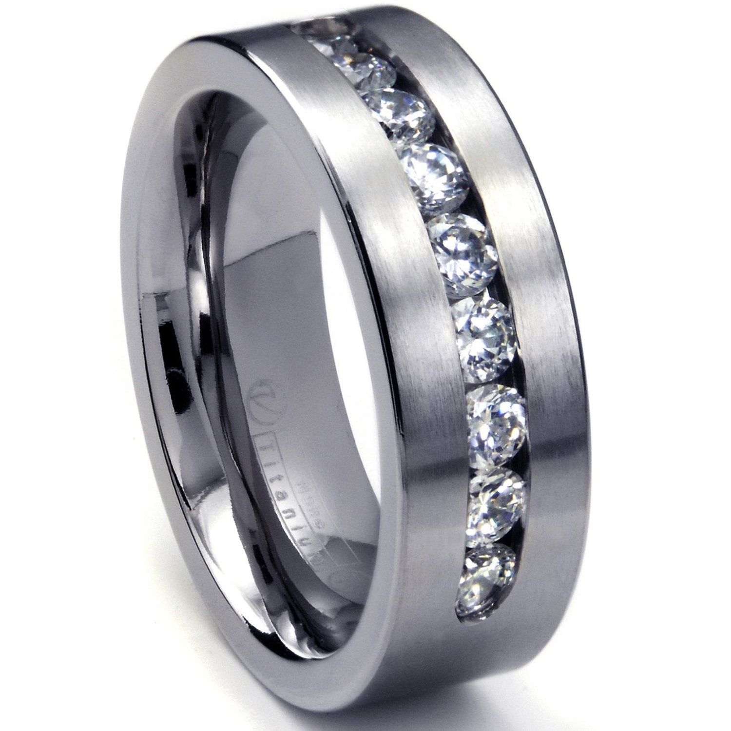 : men titanium wedding rings
