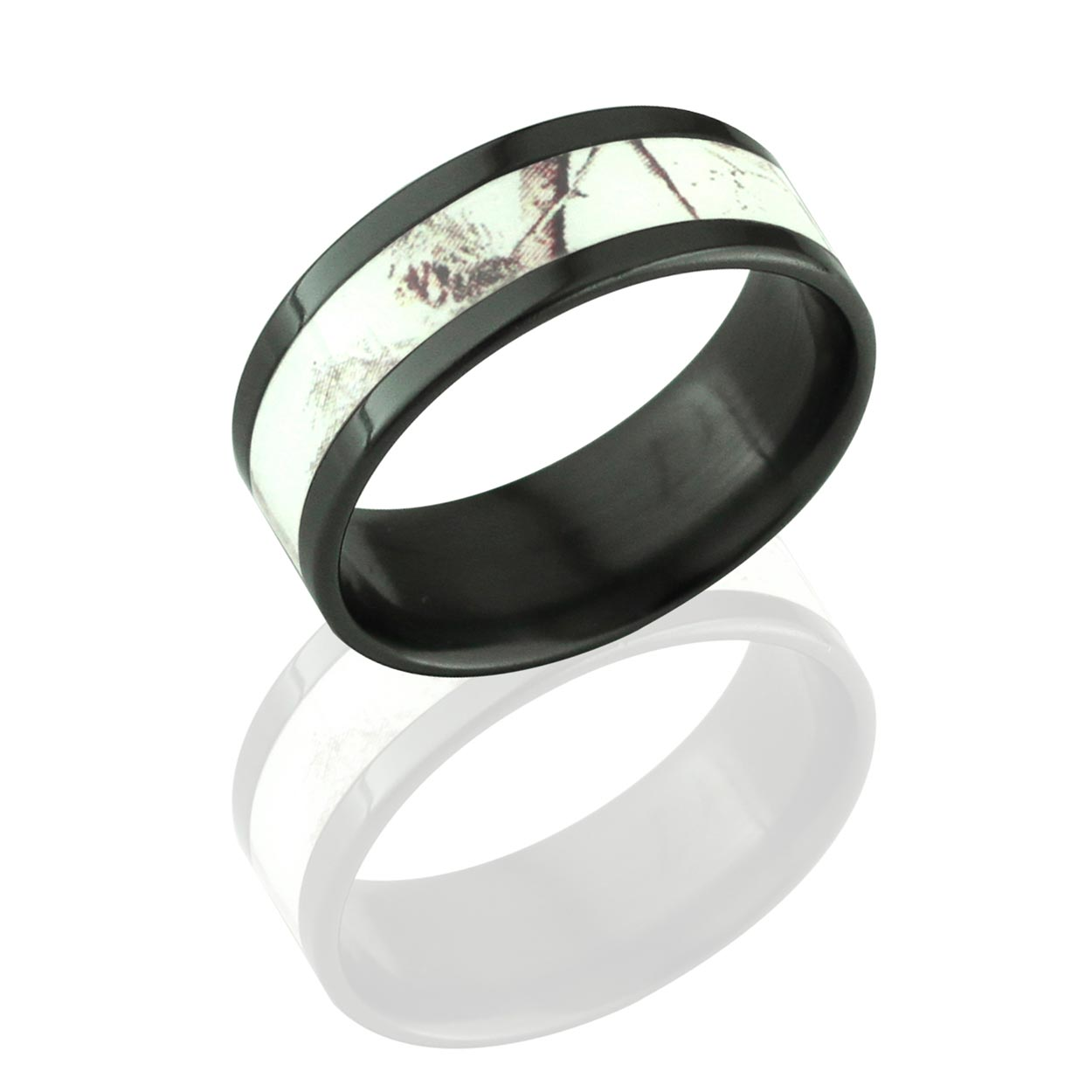 : mens camo wedding band